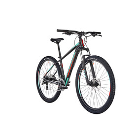 "ORBEA MX 50 MTB Hardtail 29"" sort/turkis"